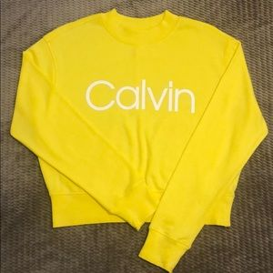 Calvin Klein Yellow Crewneck